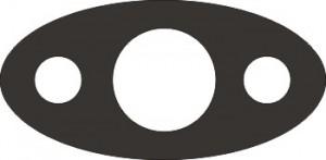Прокладка С415.00.00.002 паронит 2.0мм