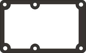 Прокладка С415.01.00.034 картон 0.5мм
