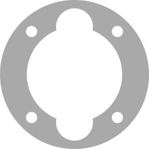 21151005 Прокладка блока клапанов (нижняя) LB50/75