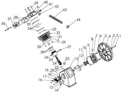 Уcтройство компрессорной головки LB-30