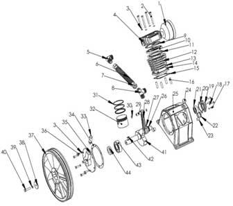 Уcтройство компрессорной головки LB-50